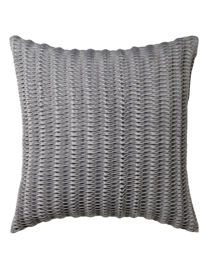 Loxton European Pillowcase in Silver image 1