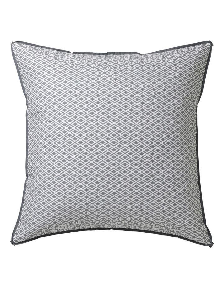 Peyton Quilt Cover Set in Silver image 2