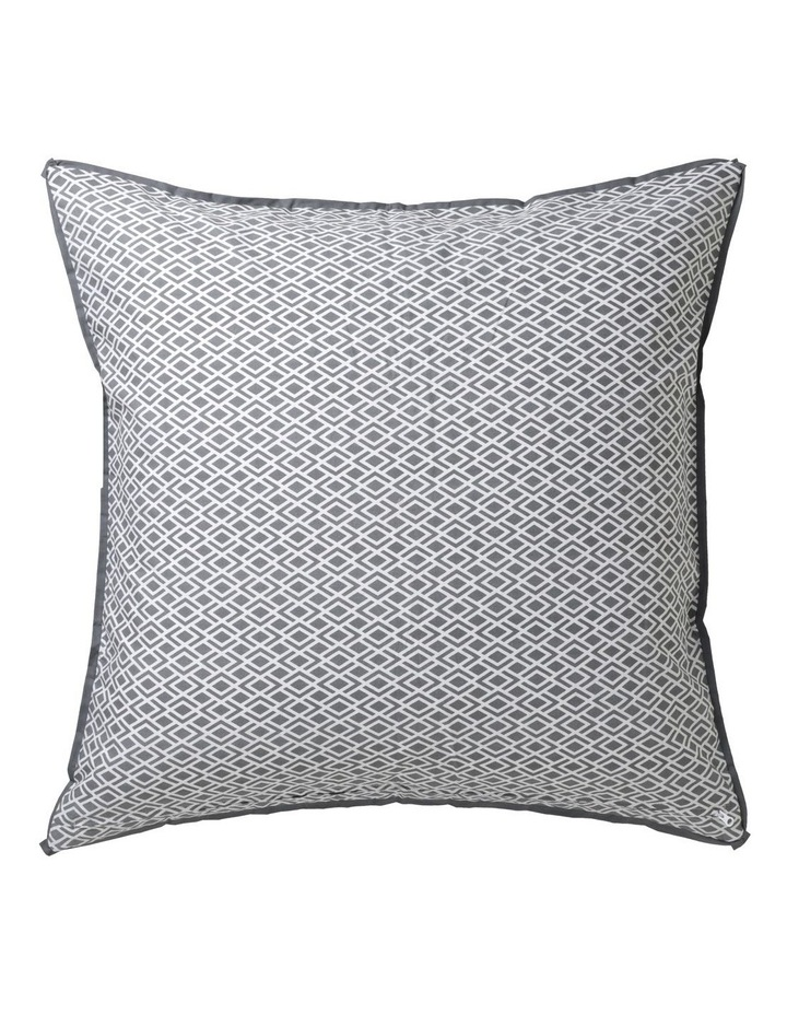 Peyton Quilt Cover Set in Silver image 3