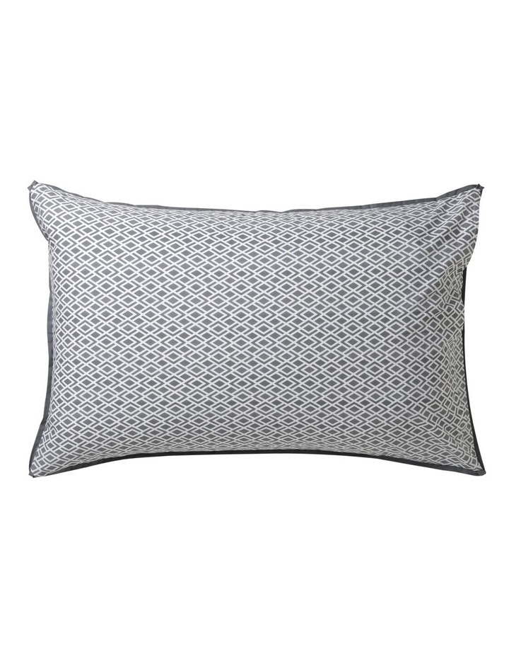 Peyton Quilt Cover Set in Silver image 5