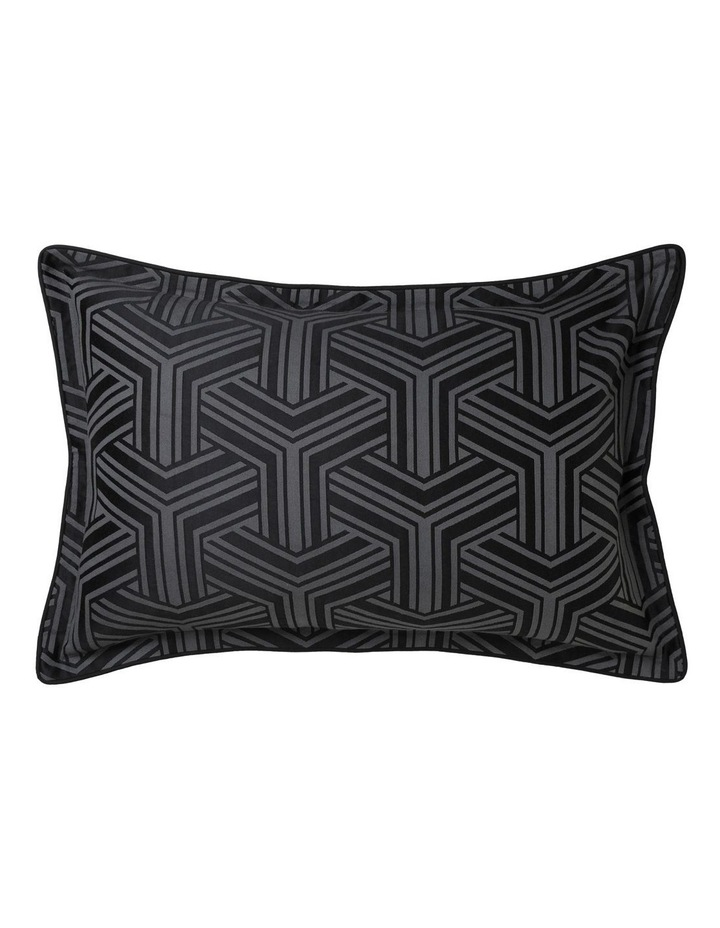 Bellamy Quilt Cover Set in Charcoal image 2