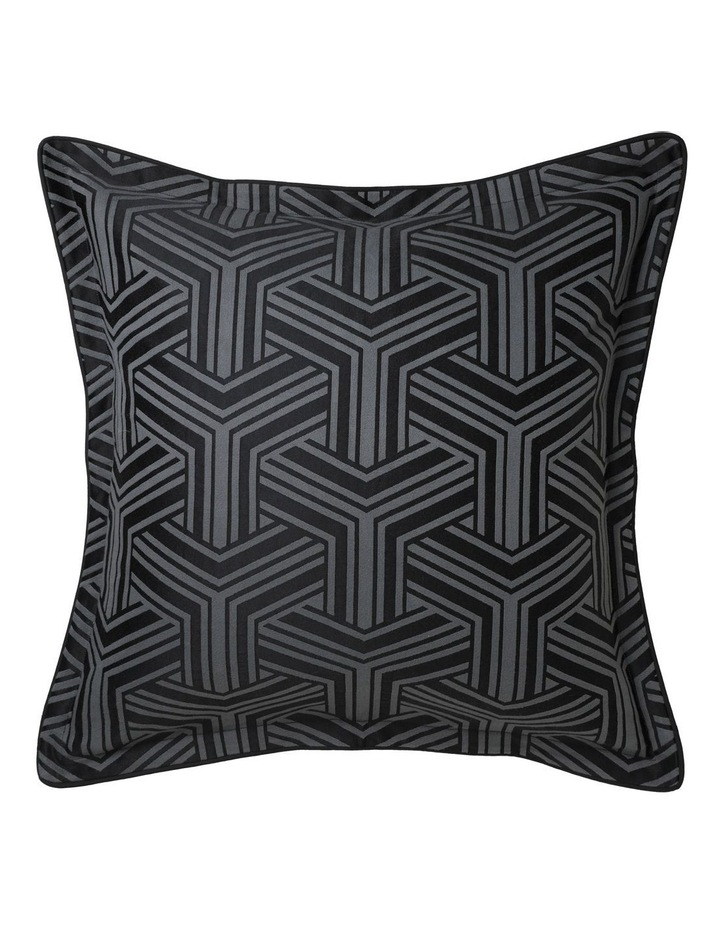 Bellamy Quilt Cover Set in Charcoal image 3