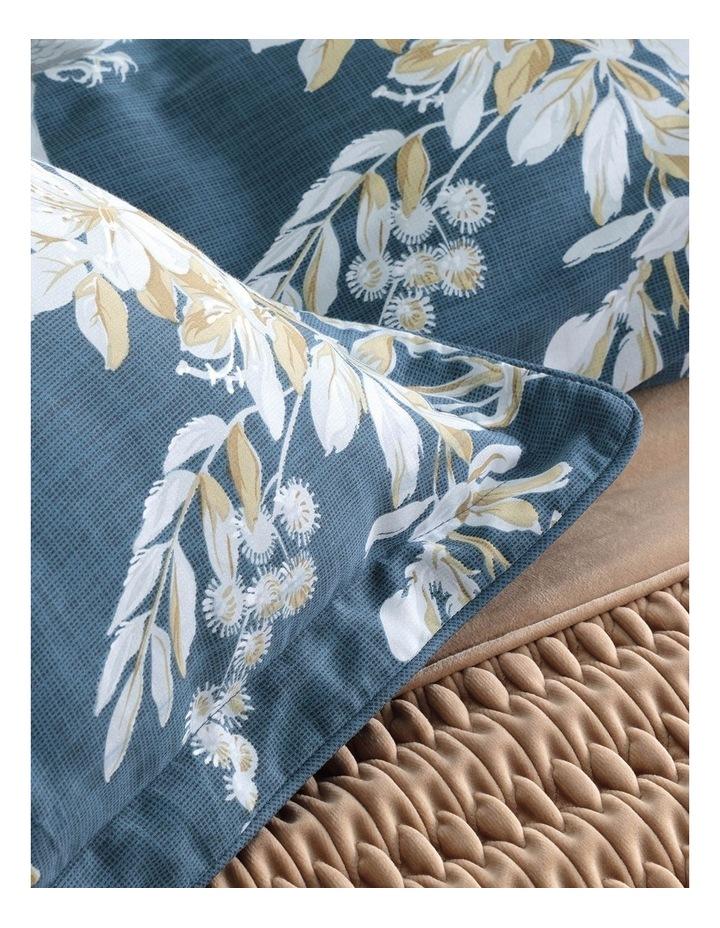 Anais Quilt Cover Set in Indigo image 4