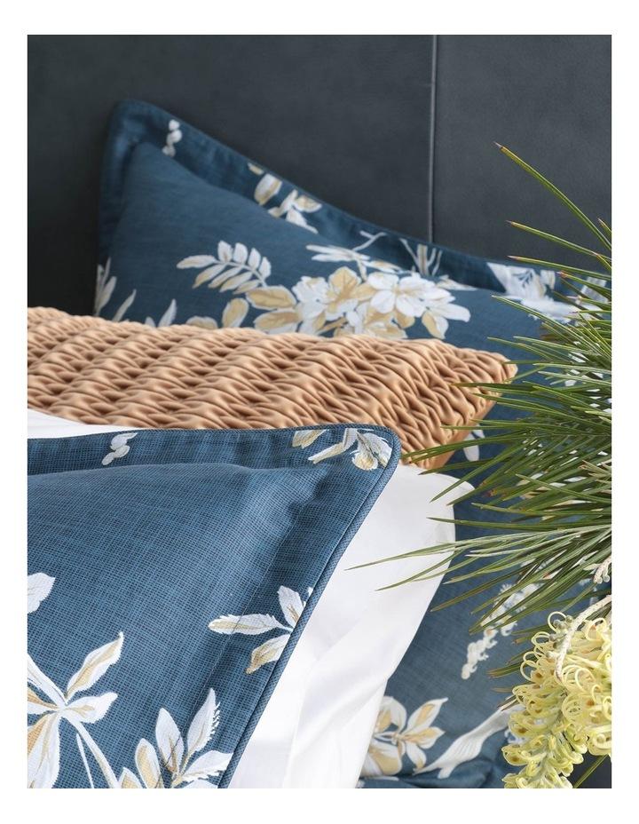 Anais Quilt Cover Set in Indigo image 6