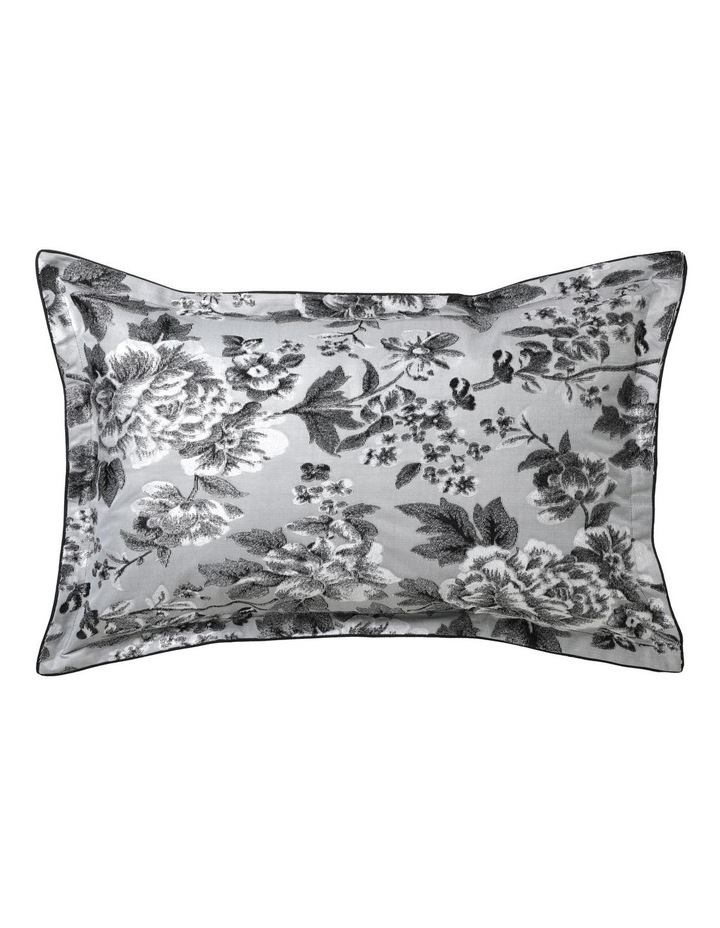 Farrah Quilt Cover Set in Silver image 2