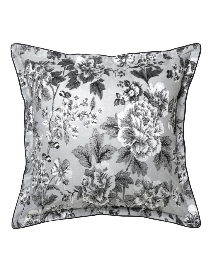 Farrah Quilt Cover Set in Silver image 3