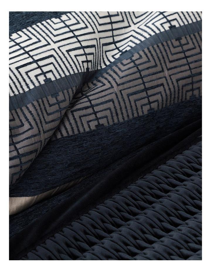 Miller Quilt Cover Set in Navy image 4