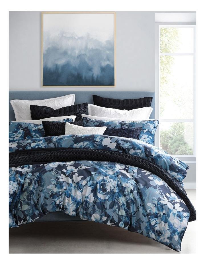 Rosie Quilt Cover Set in Navy image 1