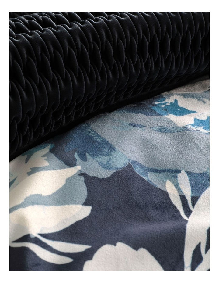 Rosie Quilt Cover Set in Navy image 4