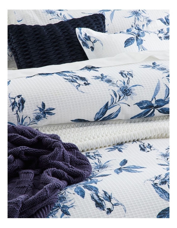 Acacia Quilt Cover Set in Blue image 2