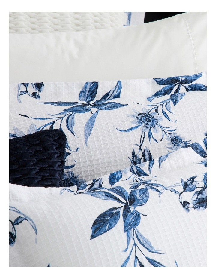 Acacia Quilt Cover Set in Blue image 4