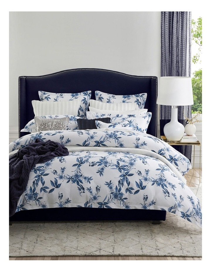 Acacia Quilt Cover Set in Blue image 6