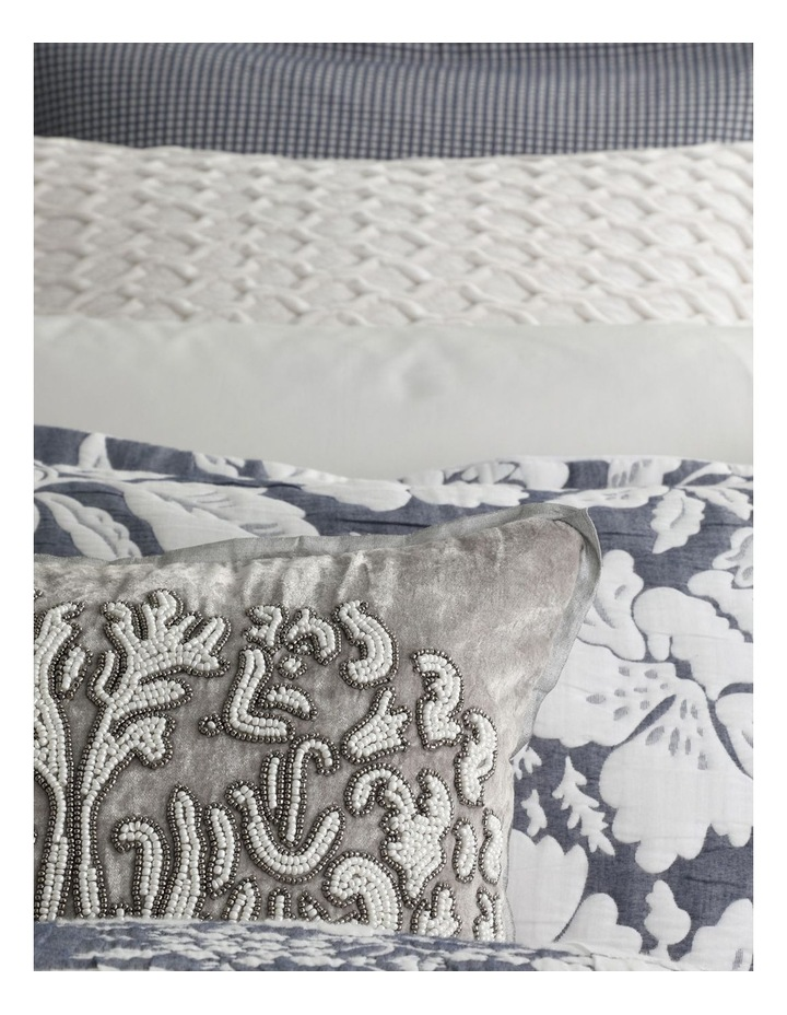 Bethany Quilt Cover Set in Navy image 4