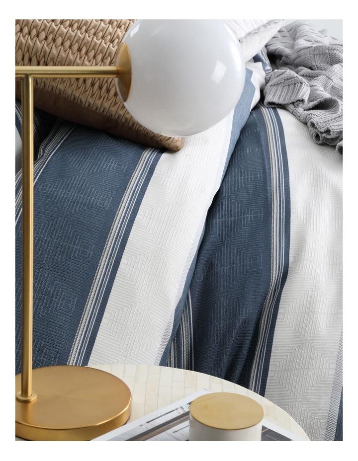 Laurant Quilt Cover Set in Denim image 4