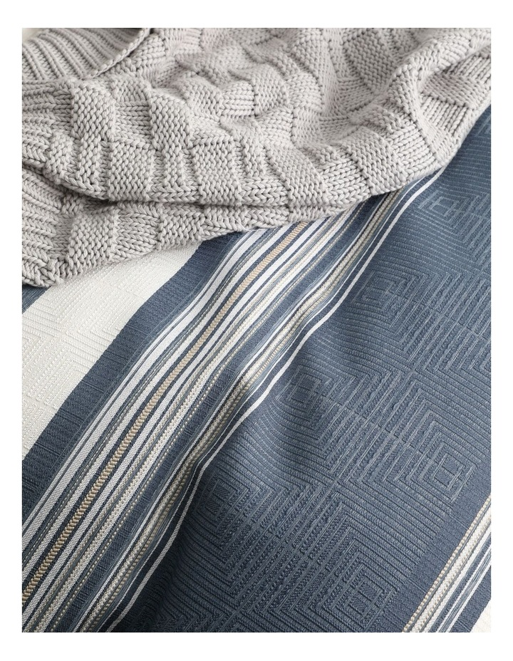 Laurant Quilt Cover Set in Denim image 5