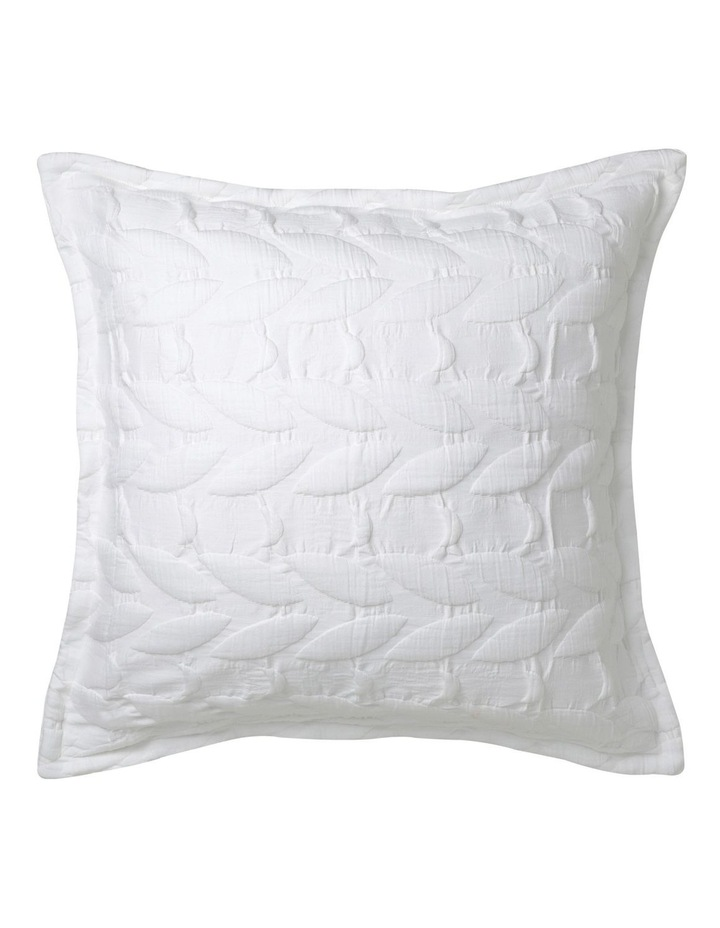 Upton Quilt Cover Set in White image 1
