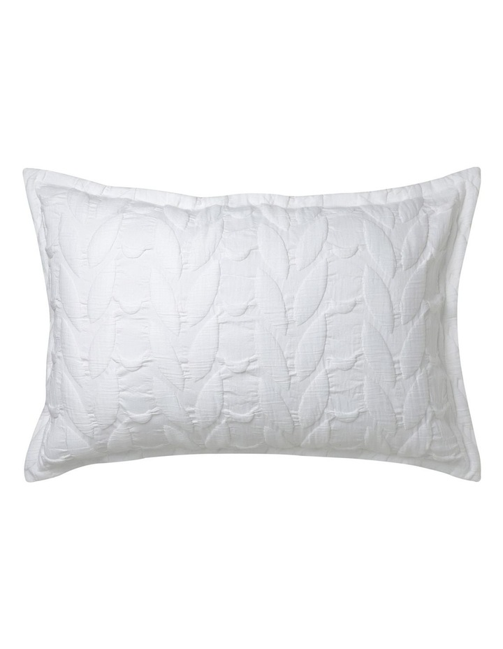 Upton Quilt Cover Set in White image 2