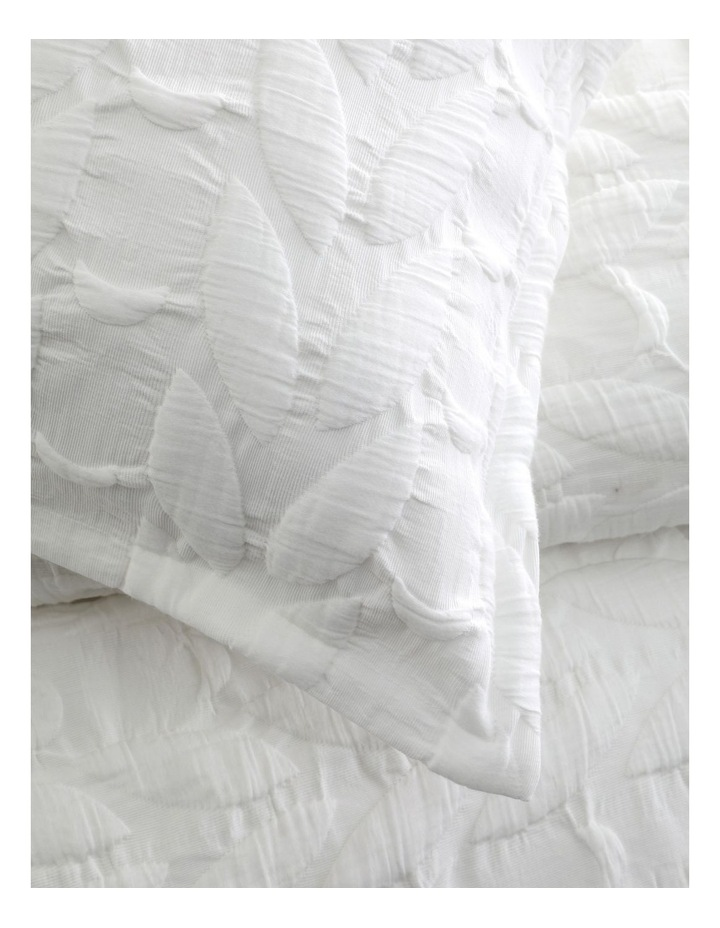 Upton Quilt Cover Set in White image 3