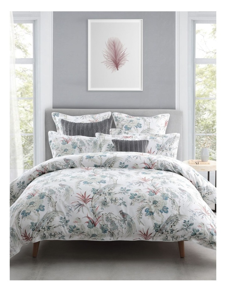 Whitby Quilt Cover Set in Spa image 1