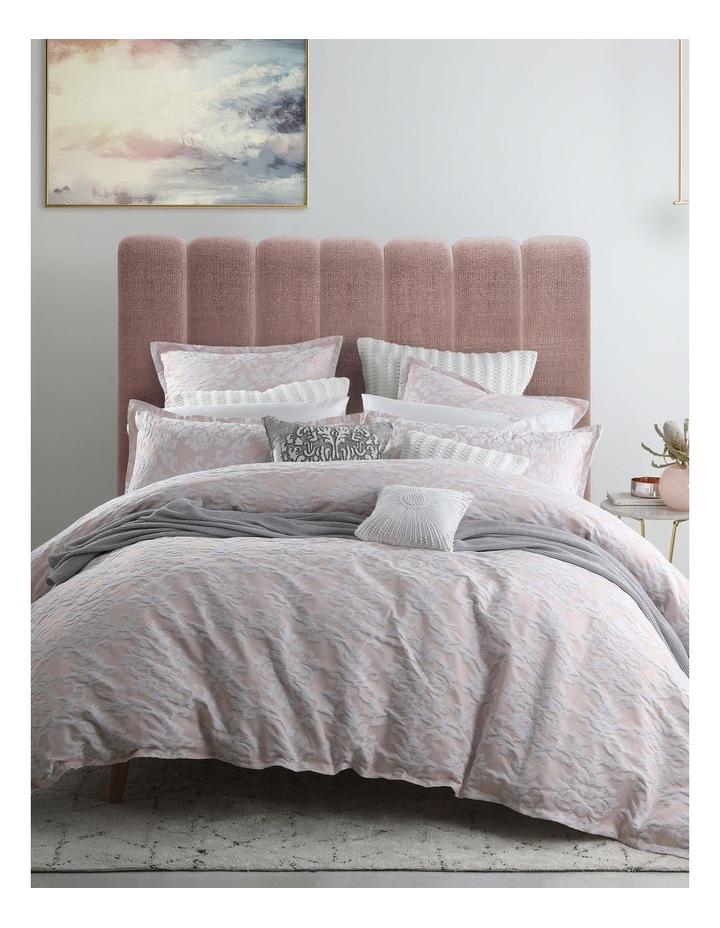 Sonnet Quilt Cover Set in Rose image 1