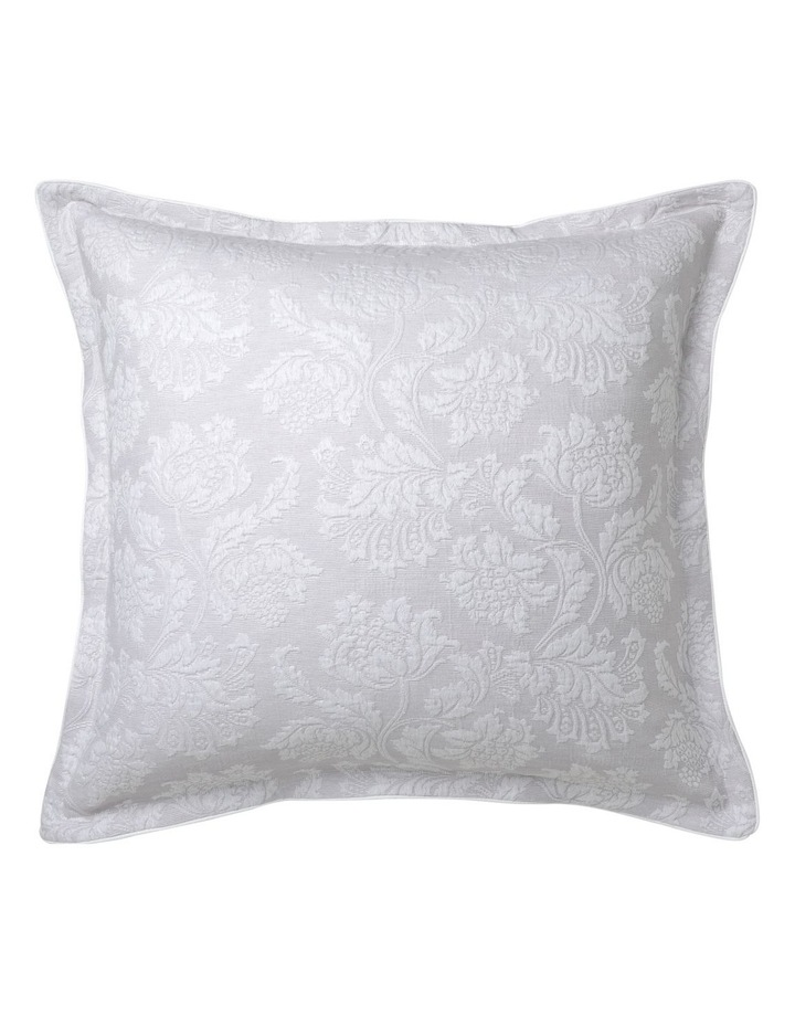 Thea Quilt Cover Set in Silver image 1