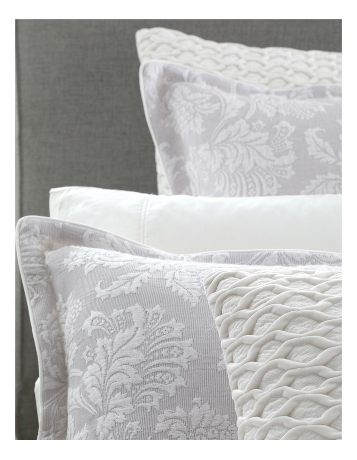 Thea Quilt Cover Set in Silver image 3