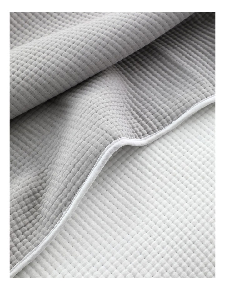 Walsh Coverlet Set in Pewter image 4