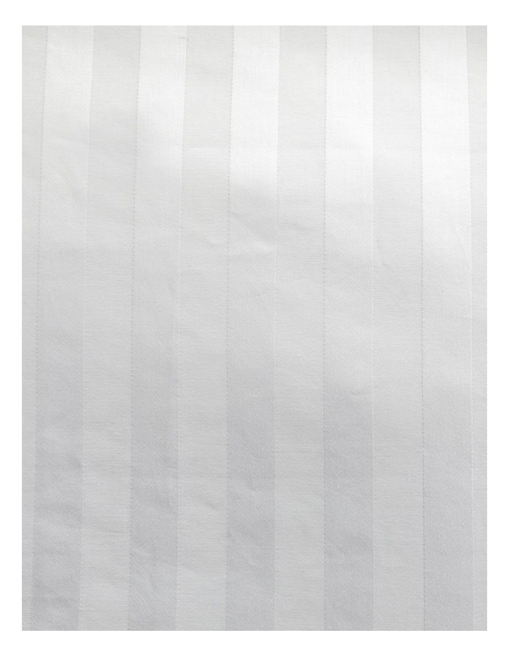Normandy Quilt Cover in White image 3