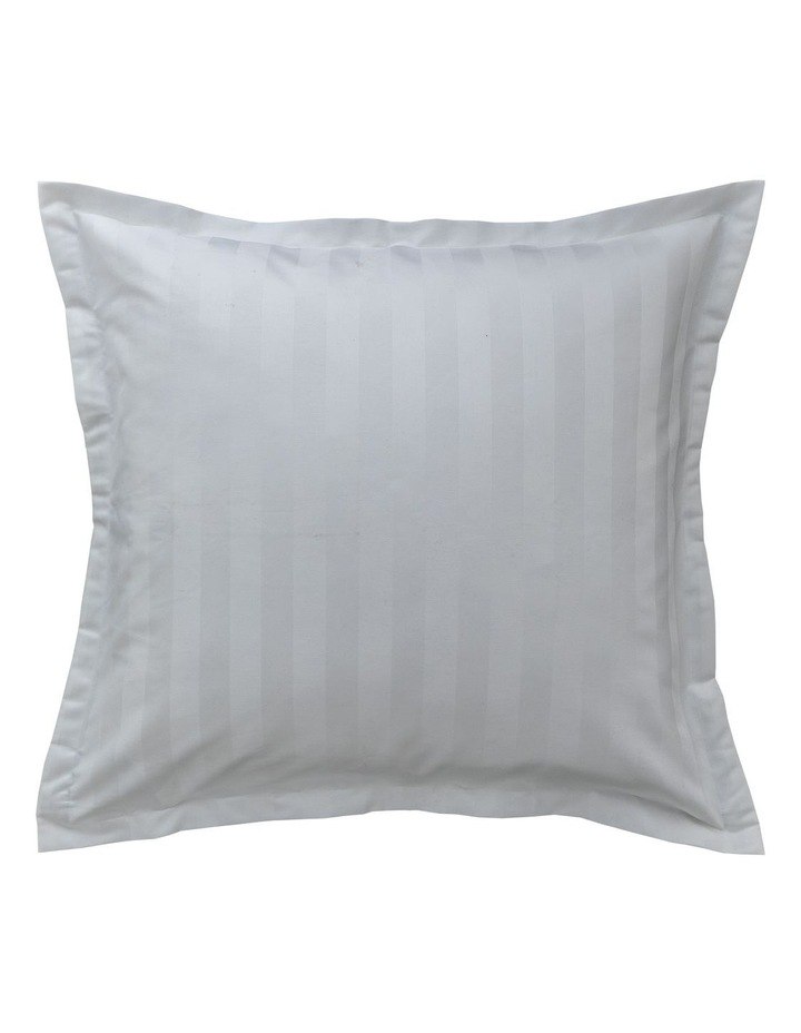 Normandy Quilt Cover in White image 5