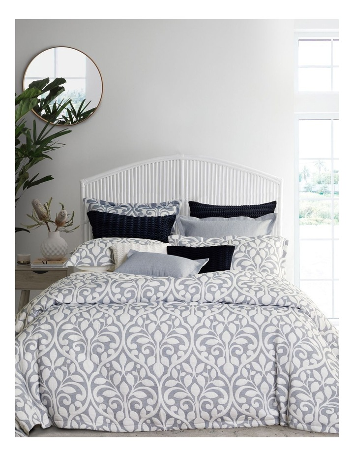 Marina Quilt Cover Set in Blue image 1