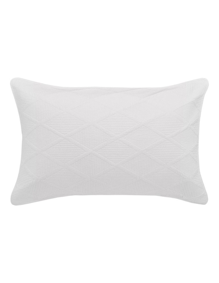 Farley Quilt Cover Set in White image 2