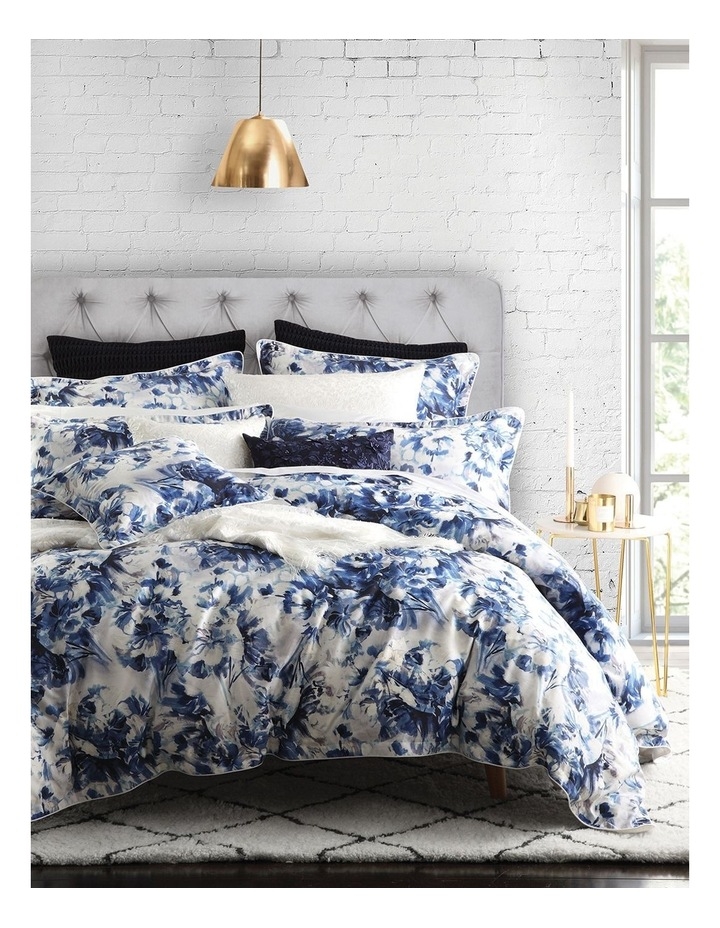 Lottie Quilt Cover Set in Indigo image 1