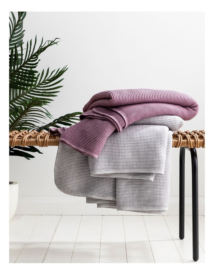 Alanya Throw in Mulberry image 2