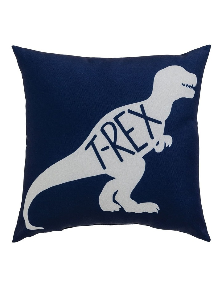 Dinotopia T-Rex Cushion in Navy image 1