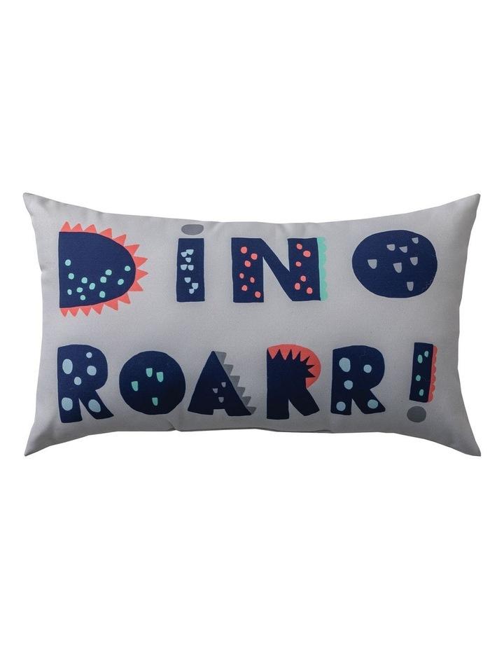 Dinotopia Roar Cushion in Grey image 1