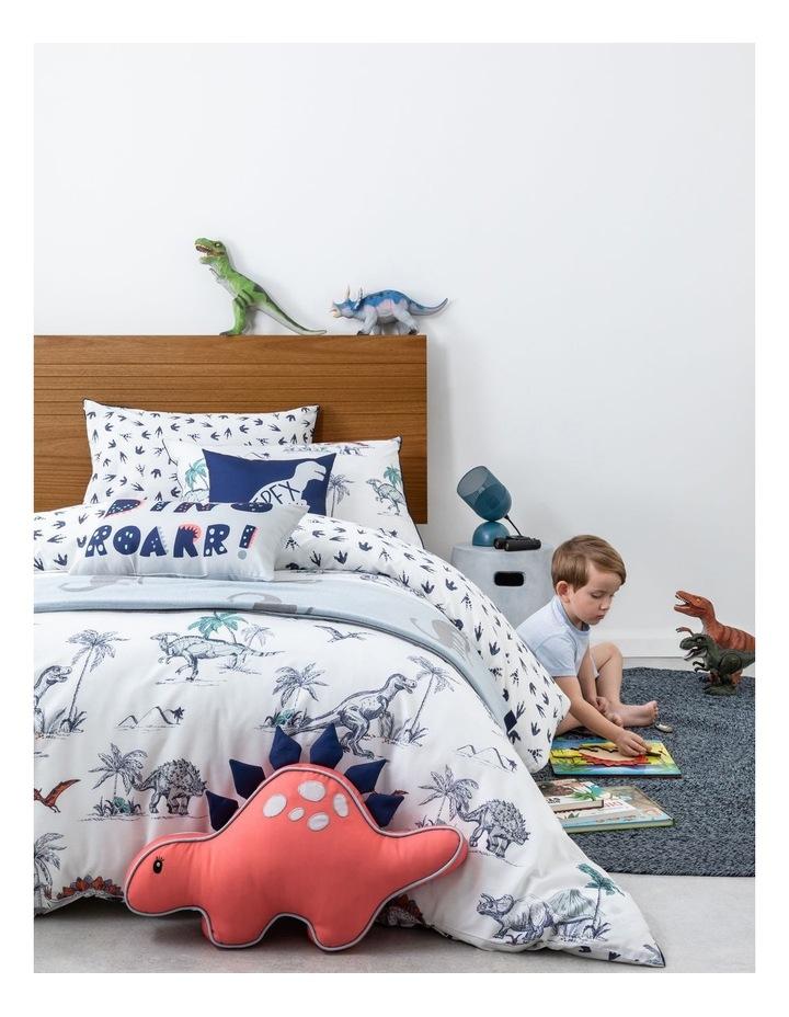 Dinotopia Roar Cushion in Grey image 2