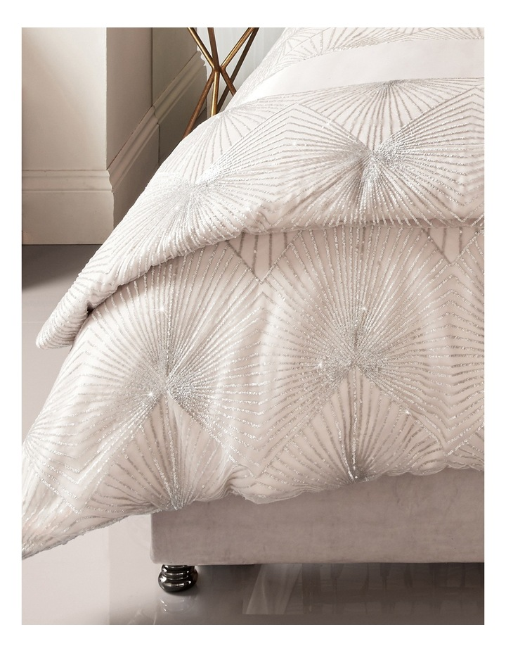 Vanetti Quilt Cover in Blush image 3
