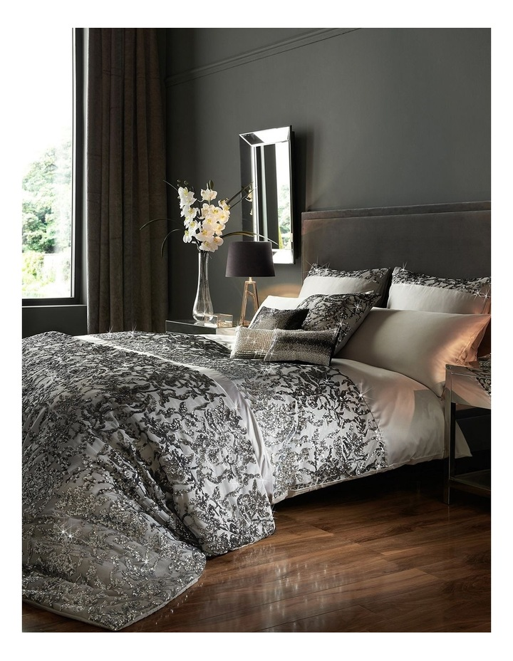 Angelina Quilt Cover in Truffle image 1
