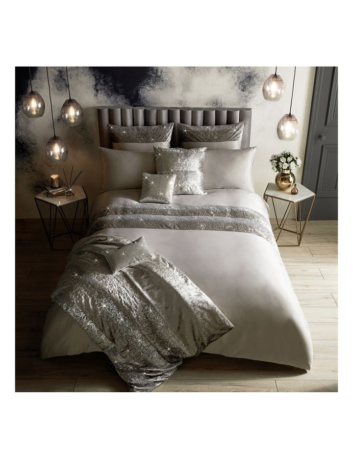 Skyla Quilt Cover in Silver image 2