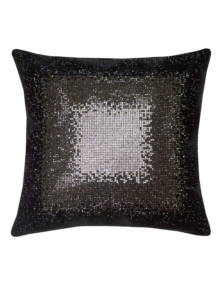Galactica Cushion in Monochrome image 1