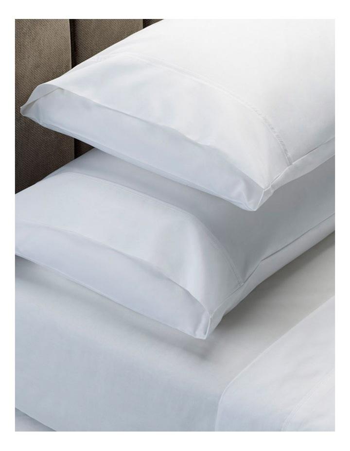 1500TC Cotton Blend Sheet Set in White image 1