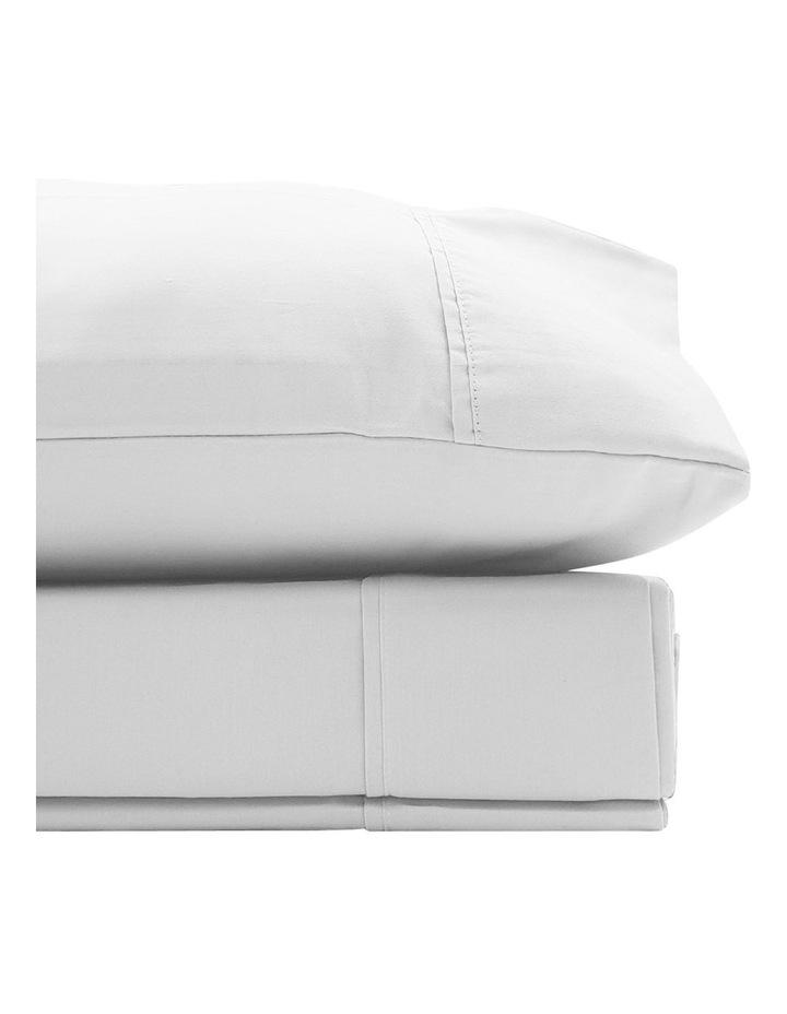 1500TC Cotton Blend Sheet Set in White image 2