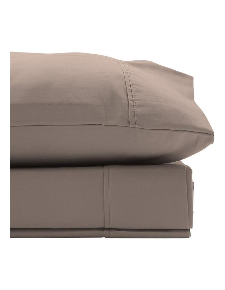 1500TC Cotton Blend Sheet Set in Stone image 2