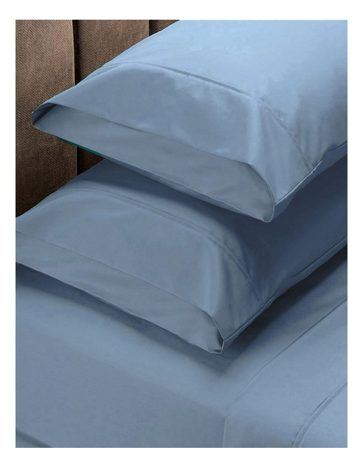 1500TC Cotton Blend Sheet Set in Blue image 1