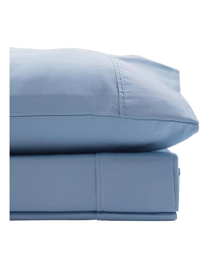 1500TC Cotton Blend Sheet Set in Blue image 2