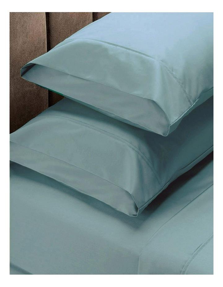 1500TC Cotton Blend Sheet Set in Mist image 1