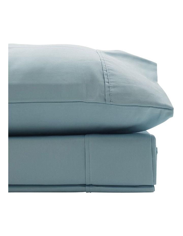 1500TC Cotton Blend Sheet Set in Mist image 2