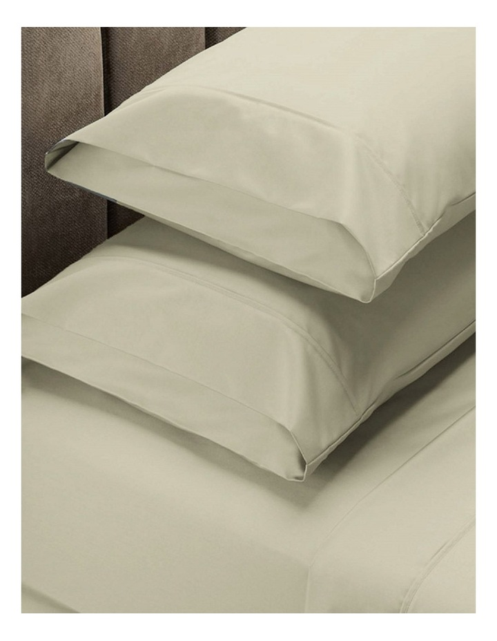 1500TC Cotton Blend Sheet Set in Ivory image 1