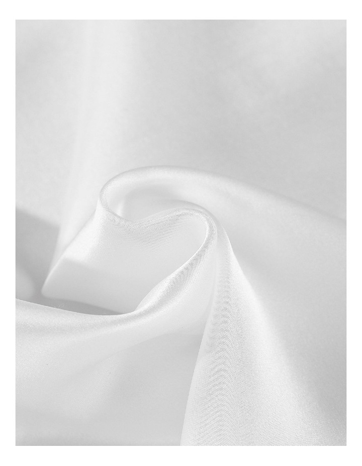 Royal Comfort Mulberry Silk Pillowcase Twin Pack - White image 2