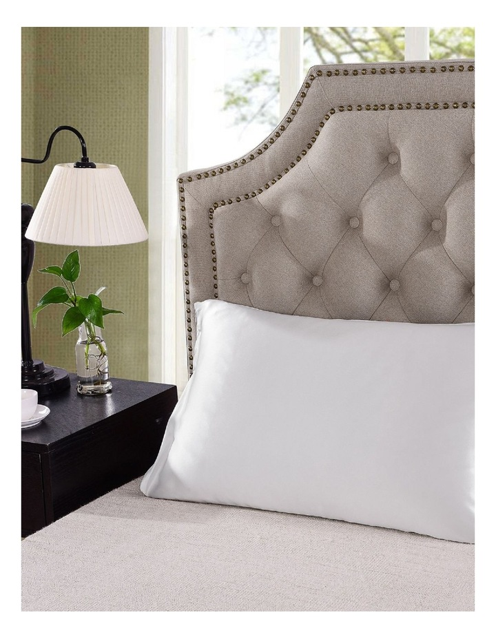 Royal Comfort Mulberry Silk Pillowcase Twin Pack - White image 4